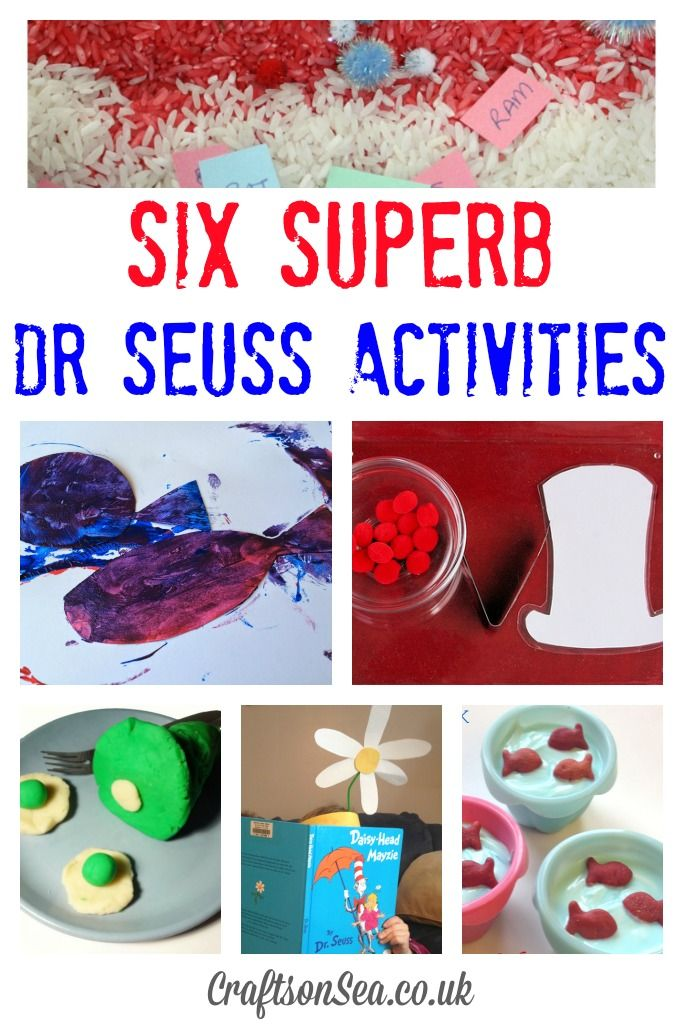 Get your kids excited about reading with these six superb Dr Seuss activities and link up your blog posts to the Tuesday Tutorials linky.