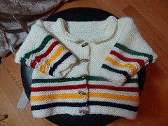 Hudson's Bay Company Baby Jacket pattern by Dilys Sutherland