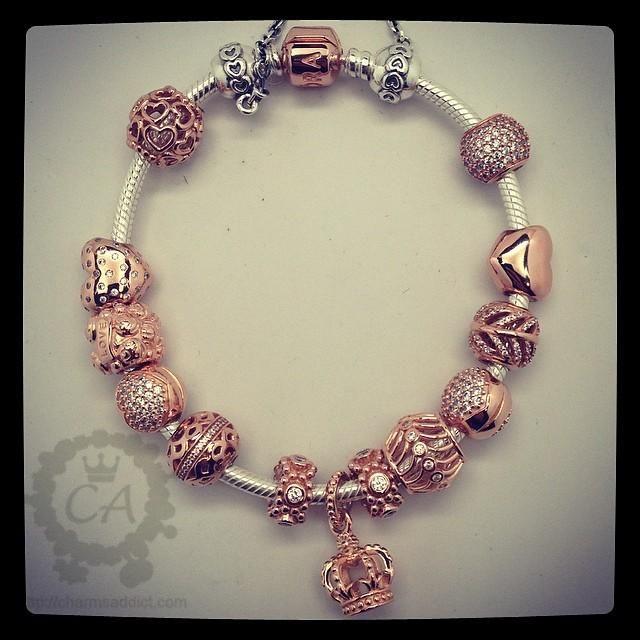 pandora bracelet shopping charm pandora gold and silver charms