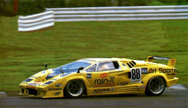 Racing Lamborghini Countach Lgmsports Com Lamborghini