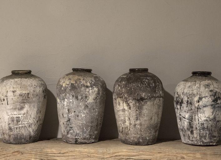 Oude chinese rijstwijn kruik | Woonland