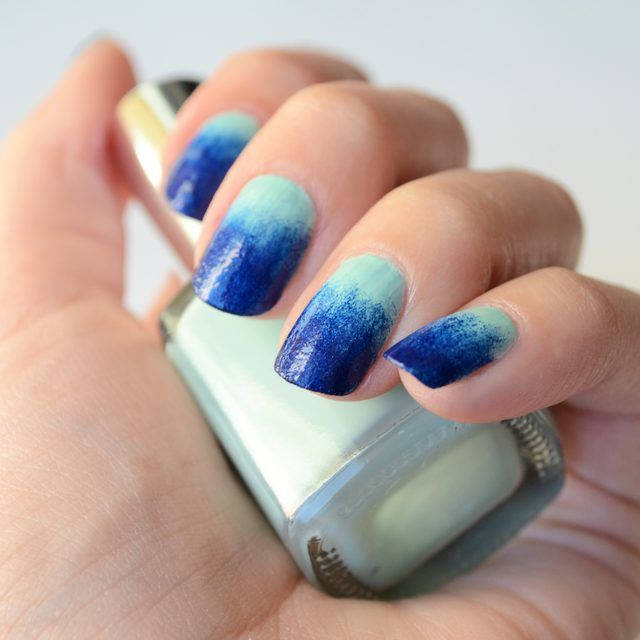 How to Do Fading Nail Polish