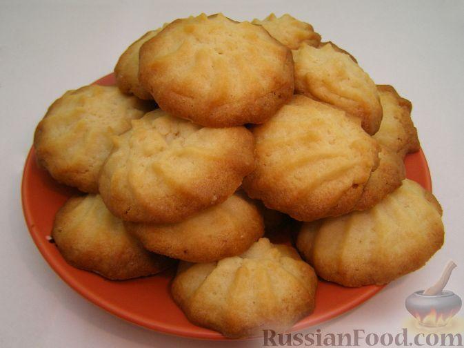Фото приготовления рецепта: Печенье «Минутка» - шаг №9