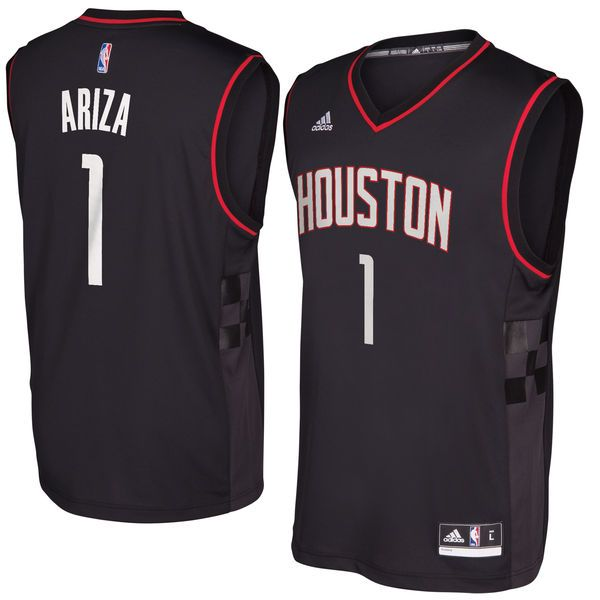 Trevor Ariza Houston Rockets adidas Alternate Replica Jersey - Black - $69.99