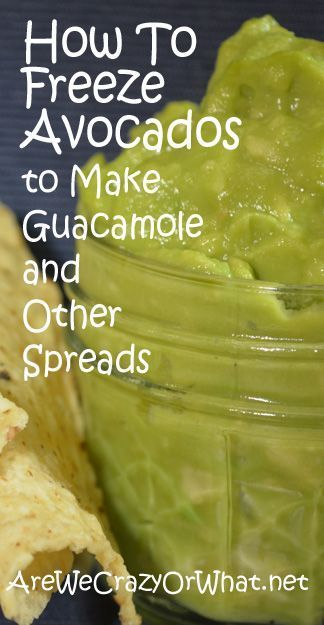 Step by step instructions for freezing and storing avocados.#beselfreliant