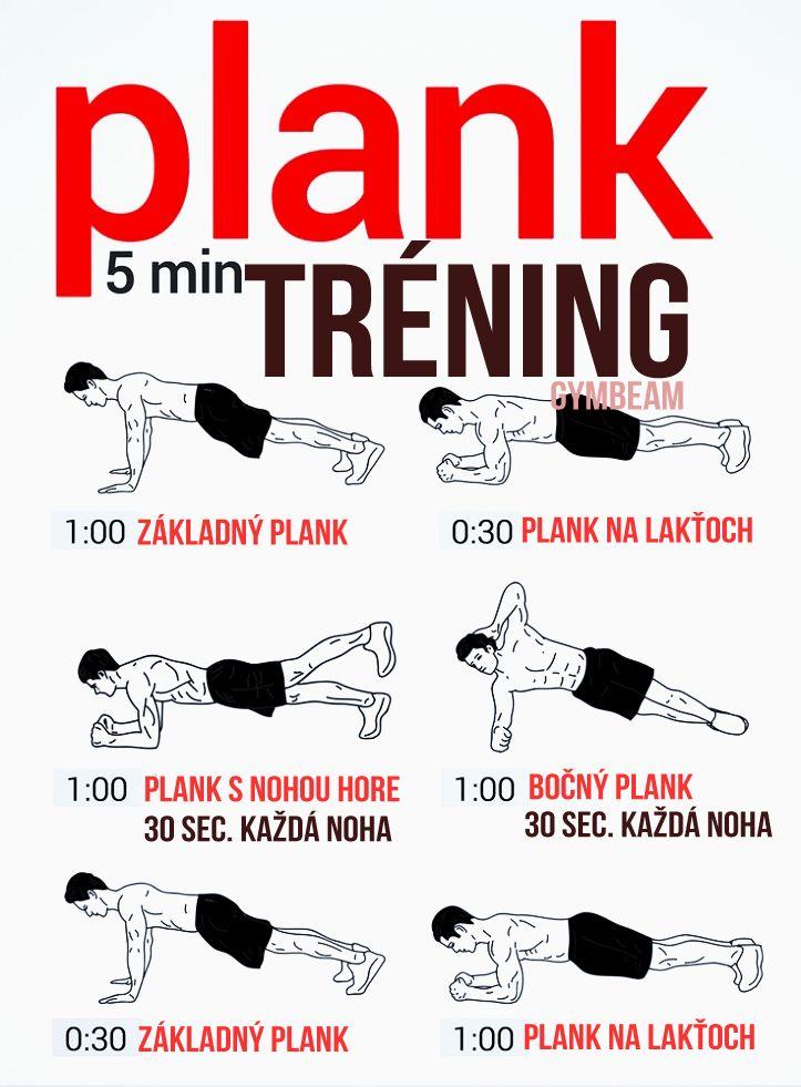 čo sa s vami stane, keď budete robiť plank každý deň: plank 5 minútový tréning