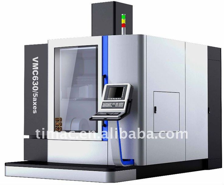 what are the 5 axis on a cnc machine