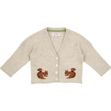 Cath Kidston - Squirrel Baby Cardigan