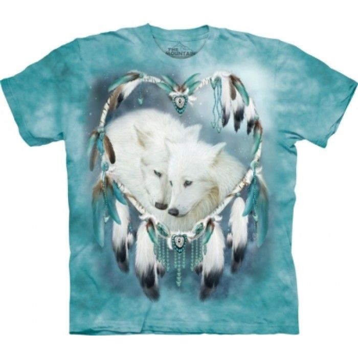 Tricouri The Mountain – Tricou Wolf Heart