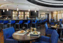 When it comes to San Diego Airport hotels, the new waterfront Courtyard by Marriott San Diego Airport Liberty Station is unmatched. Our hotel near the San Diego airport is walking distance to dozens of restaurants, shopping, San Diego golf and more.