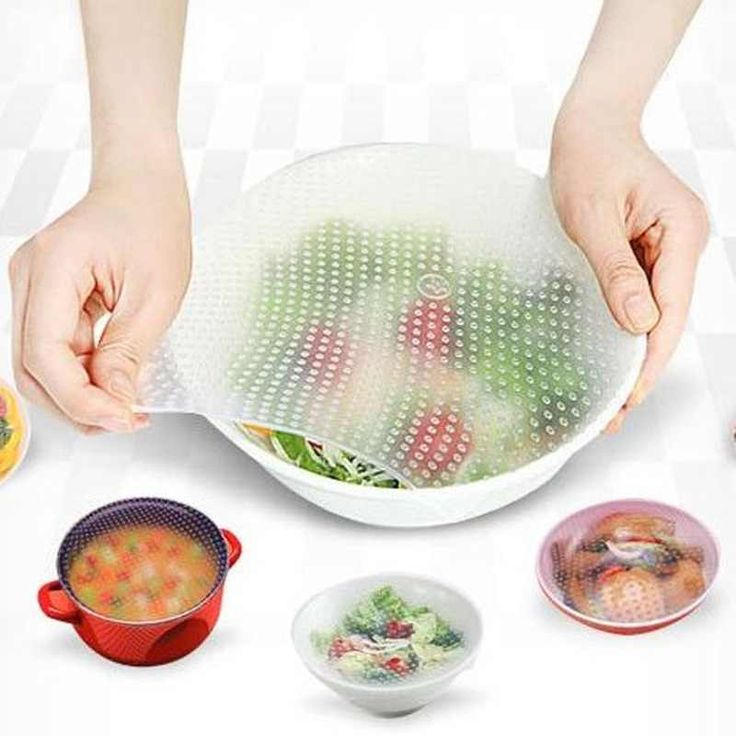 silicone food container covers