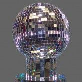 how to make a large disco ball
