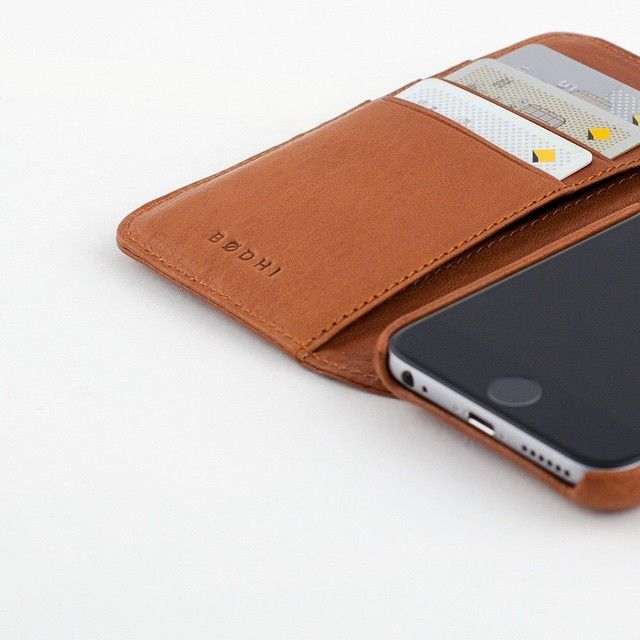 Coming Soon! The new leather iPhone 6 Wallet. #madebybodhi #bodhi #leather #accessories #apple #iphone #iphone6 http://ift.tt/1C7YNHG