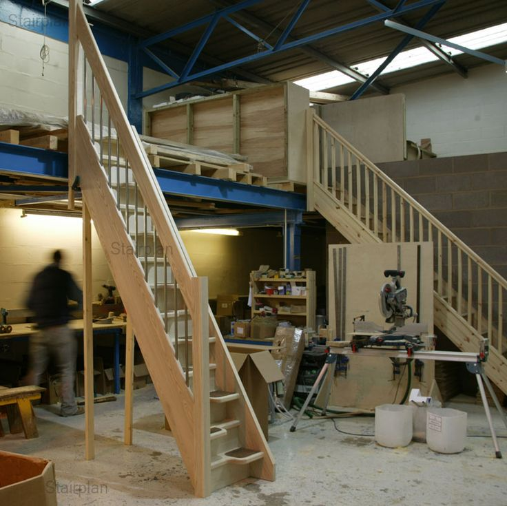Space saver loft staircases