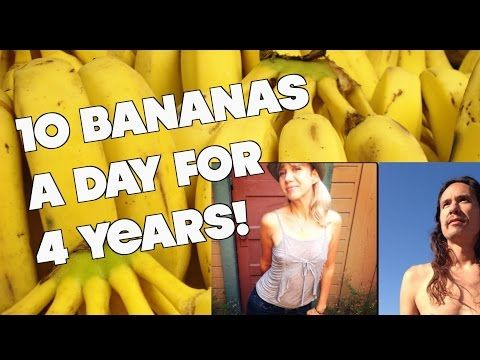I Ate 10 Bananas a Day for 4 years. What Happened to My Body? - YouTube