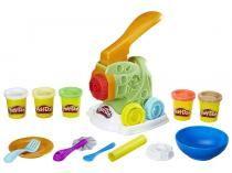 Massinha Play-Doh Fábrica de Macarrão - Hasbro com Acessórios