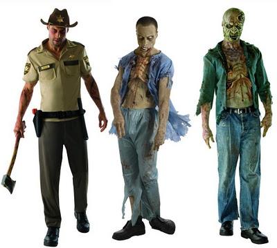 REGALOS-FRIKIS.COM: Pack de Disfraces de The Walking Dead