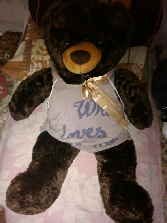 My teddy..