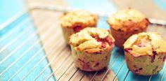aardbei muffins van kokosmeel
