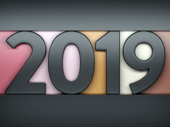 creative wallpaper 2019 happy new year