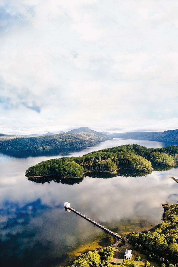 Pumphouse Point, Lake St Clair, Tasmania | Where to stay (Condé Nast Traveller)