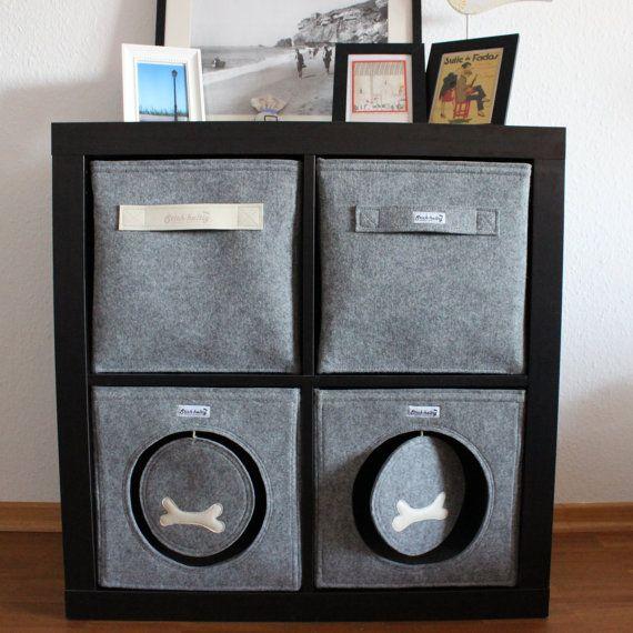 hundeh hle katzenh hle aus filz passend f r von technikdesigncm ideen. Black Bedroom Furniture Sets. Home Design Ideas