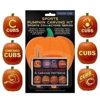 Chicago Cubs Pumpkin Carving Kit! #Halloween