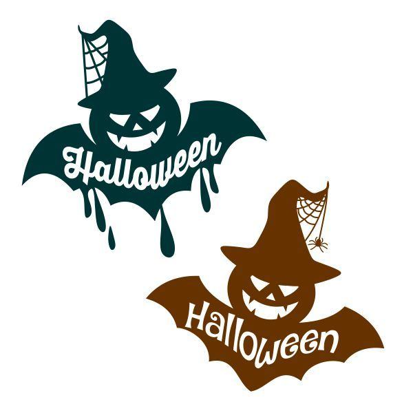 Halloween Bat-O-Lantern Cuttable Design Cut File. Vector, Clipart, Digital Scrapbooking Download, Available in JPEG, PDF, EPS, DXF and SVG. Works with Cricut, Design Space, Cuts A Lot, Make the Cut!, Inkscape, CorelDraw, Adobe Illustrator, Silhouette Cameo, Brother ScanNCut and other software.