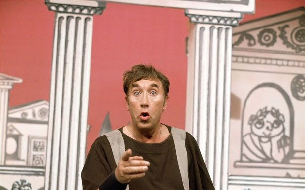 Can we really know what made the Romans laugh? Frankie Howerd in Up Pompeii (1973)