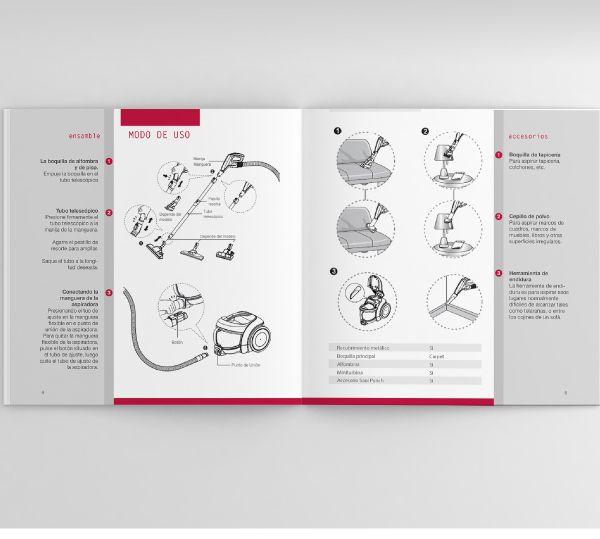 LG - Manual de Producto on Behance