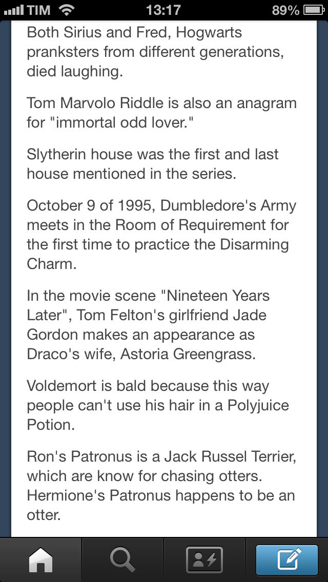 Harry Potter facts 2nd to last, and that's why his fingernails are so gross too