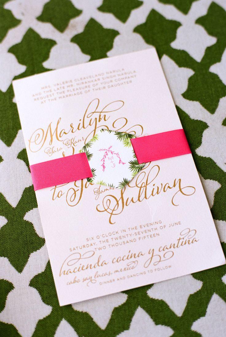 casual evening wedding invitation wording%0A Narula Sullivan Wedding Nancy Aidee Photography Belle of the Ball