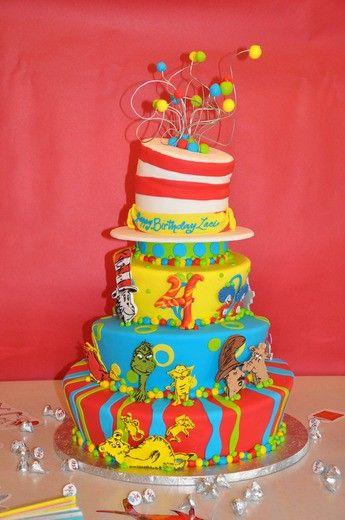 #Cake #Dr. Suess