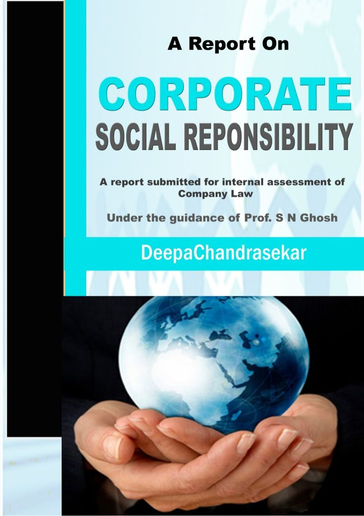 corporate social responsibility in india India is the first country to have corporate social responsibility (csr) legislation, mandating that companies give 2% of their net profits to charitable.