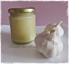 Rezepte mit Herz ♥: Knoblauchpaste