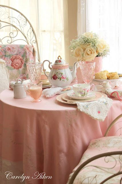 .Afternoon Tea -- Everything stops for it in England, ireland and Scotland. It is a beautiful tradition. Scones, jam and clotted cream, sponge cake and berries, tea sandwiches, and butter biscuits are the usual fare with tea, and the finest teapot and teacups are brought out, or silver if you have it. It is a beautiful break in the afternoon and is not to be rushed.