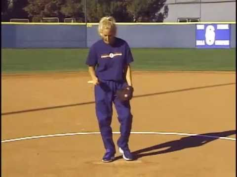 softball pitching how to hold the ball and increase wspeed