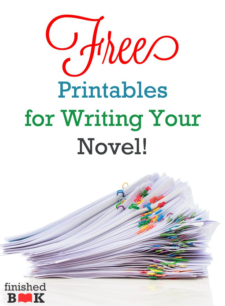 Are you interested in writing a novel but you don't want to start? Do you learn by doing? Do you want easy-to-use worksheets to help novel writing made sense? I've pulled together a ton of FREEprintables for you.