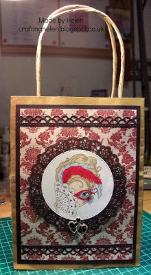 Made by Helen: New Julia Spiri Challenge - Anything But a Card