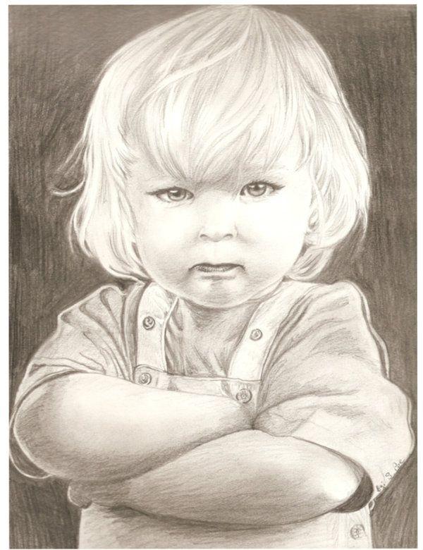 Рисованные картинки детей карандашом