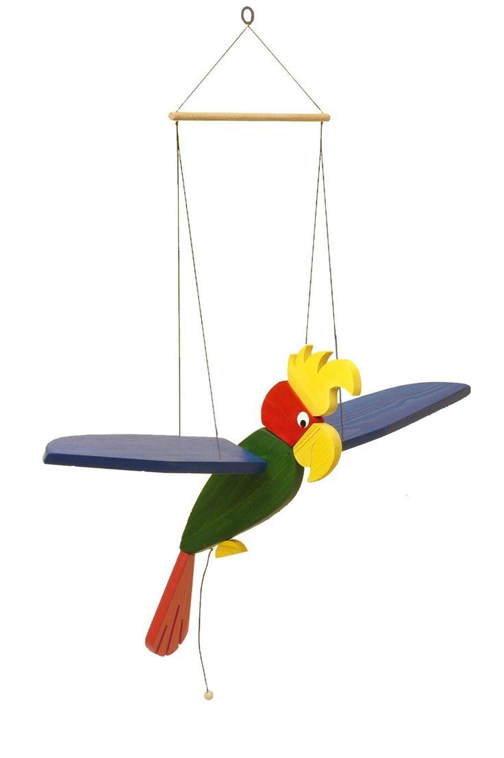 Parrot mobile 2 — Modra Kachna Toys