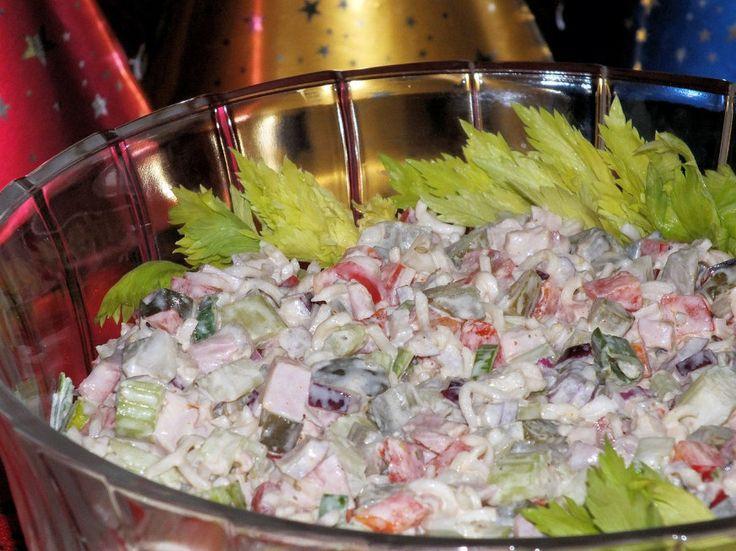 Chrupiąca sałatka na sylwestrowe przyjęcie - zdjęcie 3