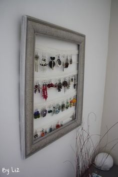 boucle d 39 oreille porte bijoux and bijoux on pinterest. Black Bedroom Furniture Sets. Home Design Ideas