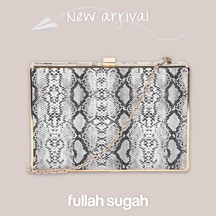 FullahSugah New Arrival Snake print βραδινό τσαντάκι | 1437102363 #sales #fashion #bags #trends #style #fullah_sugah