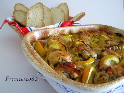 La cucina degli Angeli: Pollo al limone ed erbe aromatiche