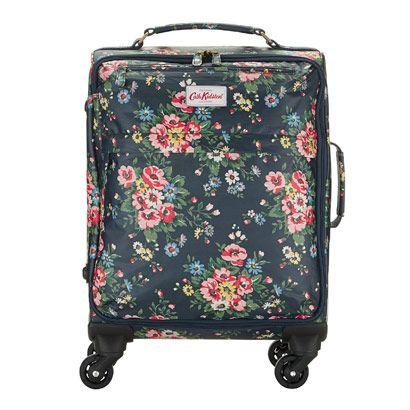 Folk Flowers Wheeled Cabin-Sized Suitcase