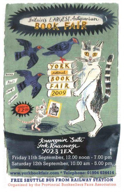 Mark Hearlds York book fair illustration