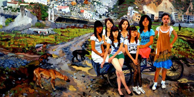 LIU XIADONG, CHINESE PAINTER – When society and art should be like breathing in and out – Meeting Benches