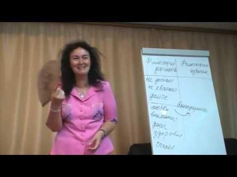 Марина Таргакова. Конституция личности. Часть 1