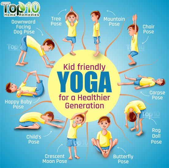 Yoga is excellent way to get your kids moving and exercising. This is a fun activity for the whole family to do together.